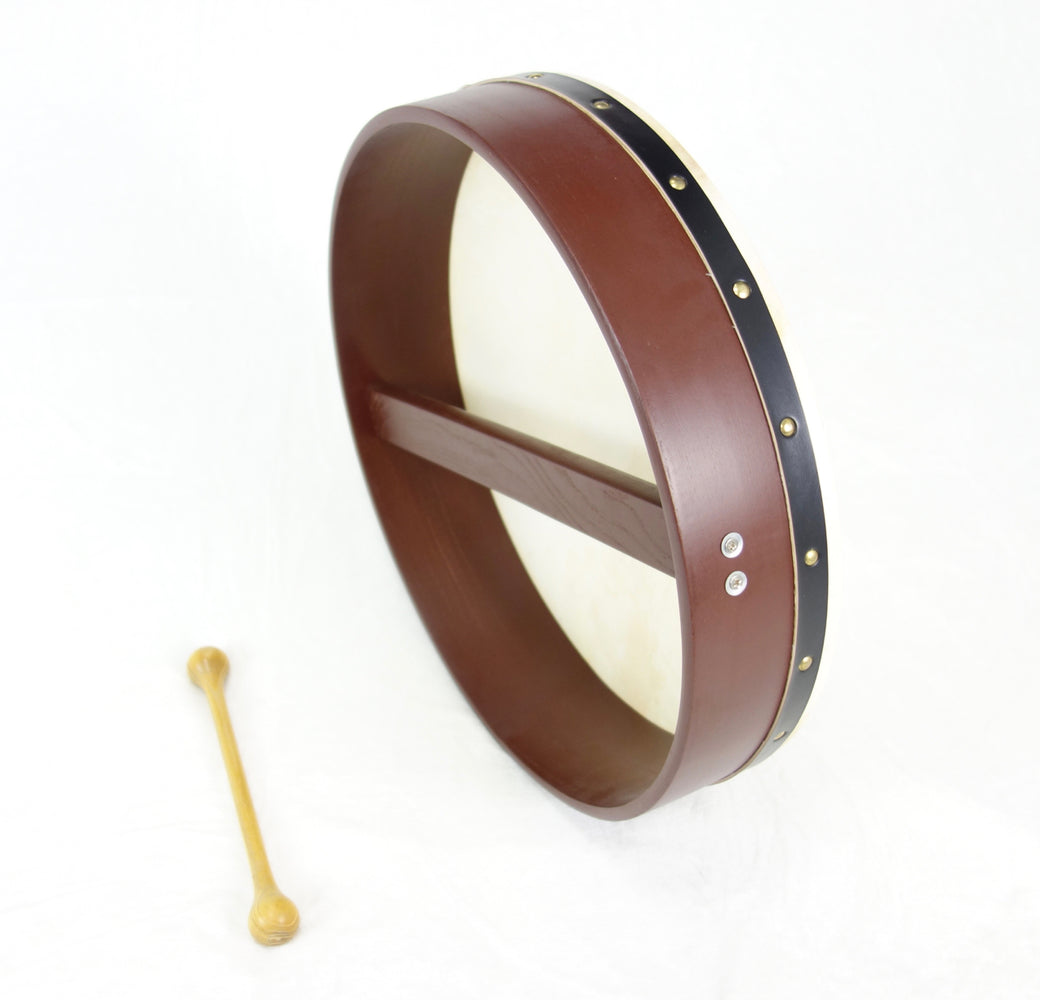 "EMS 16"" x 3.5"" Fixed Head Bodhran in Brown"