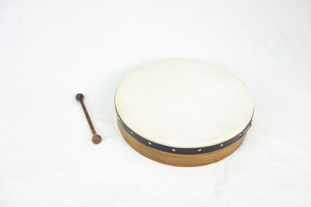 "EMS 18"" x 3.5"" Fixed Head Bodhran in Rosewood"