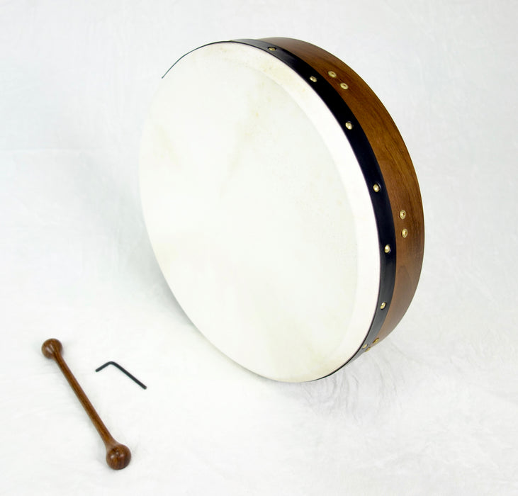 "EMS 18"" x 3.5"" Tuneable Bodhran in Brown"