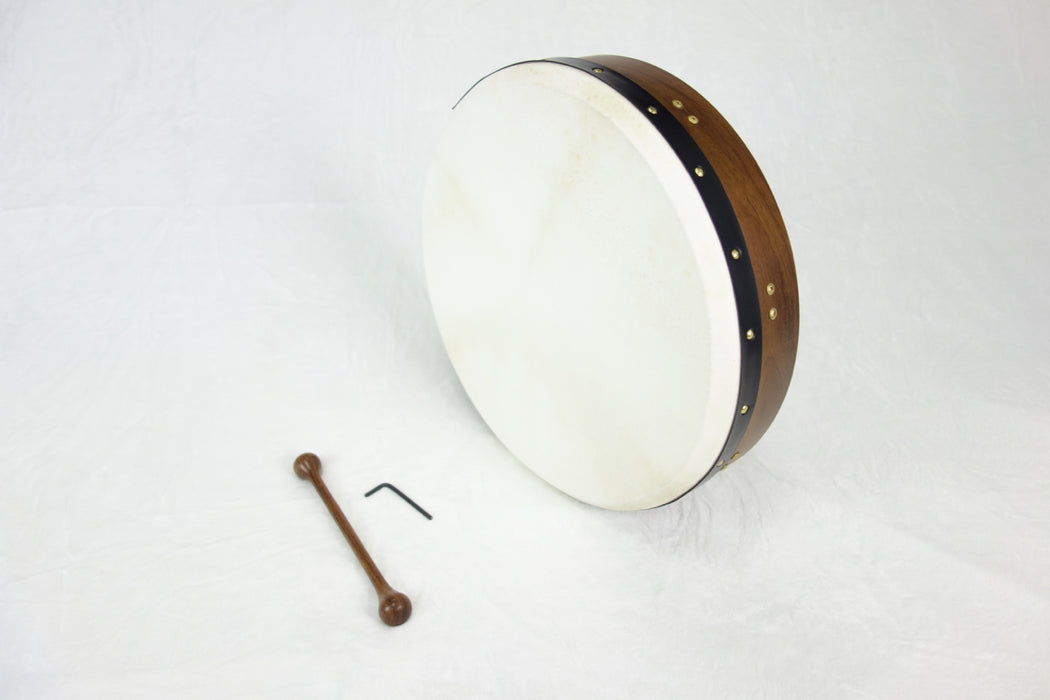 "EMS 18"" x 3.5"" Tuneable Bodhran in Rosewood"
