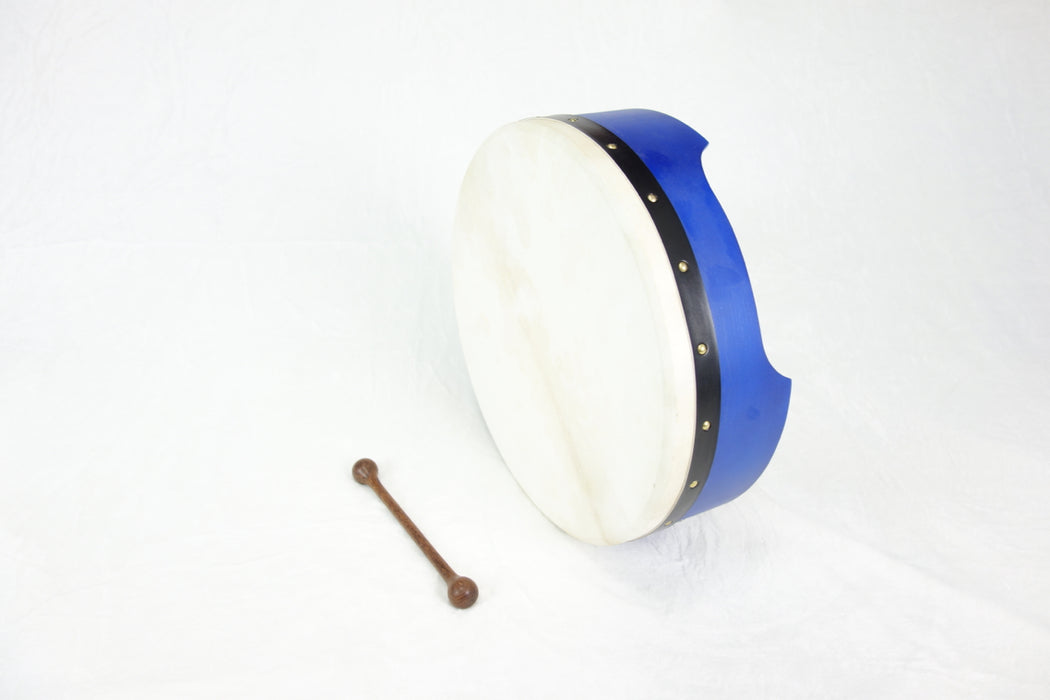 "EMS 16"" x 5"" Fixed Head Bodhran in Indigo"