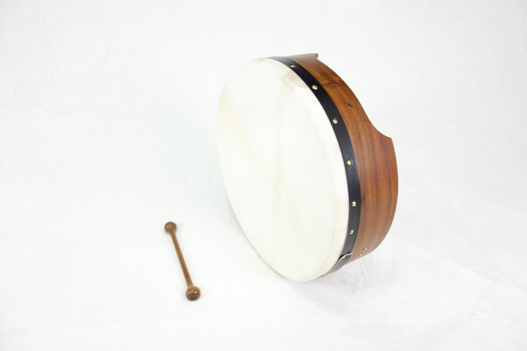 "EMS 16"" x 5"" Fixed Head Bodhran in Rosewood"