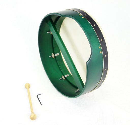 "EMS 16"" x 5"" Tuneable Bodhran in Green"