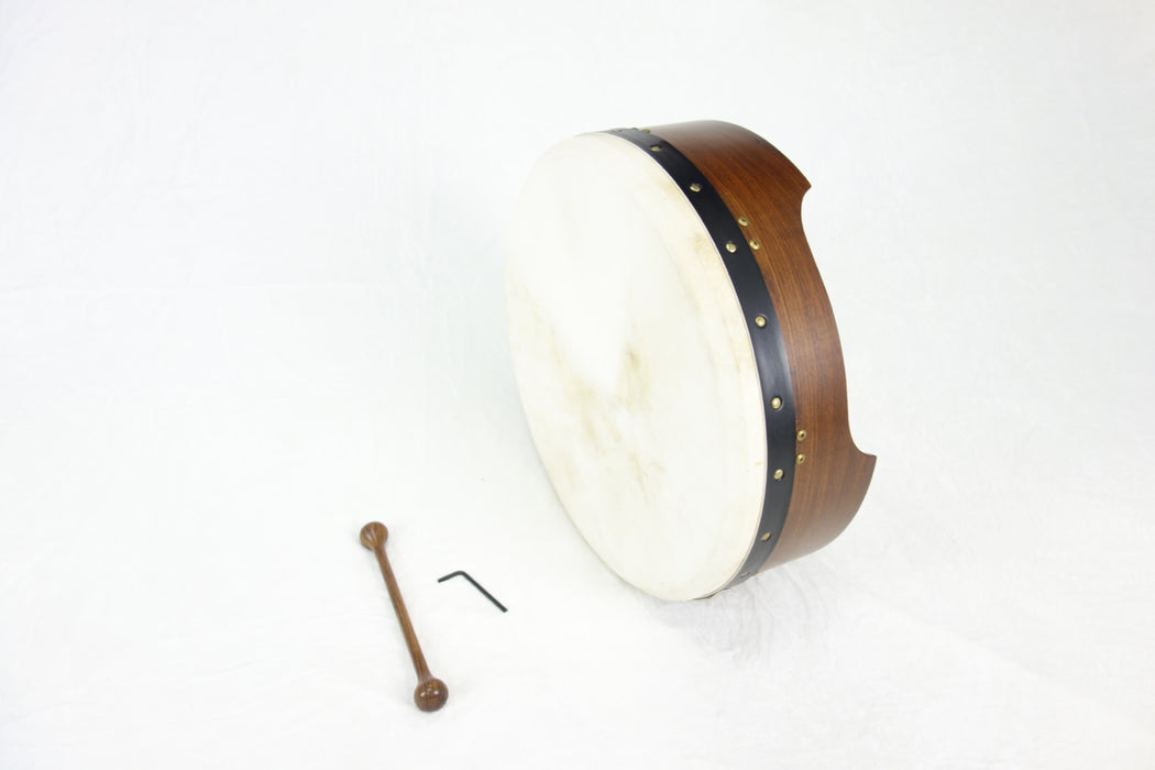 "EMS 18"" x 5"" Tuneable Bodhran in Rosewood"