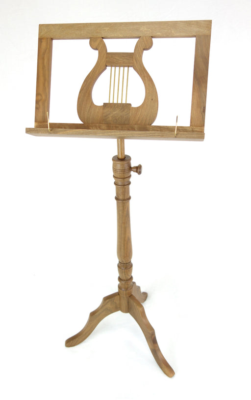 EMS Regency Single Wooden Music Stand in Walnut