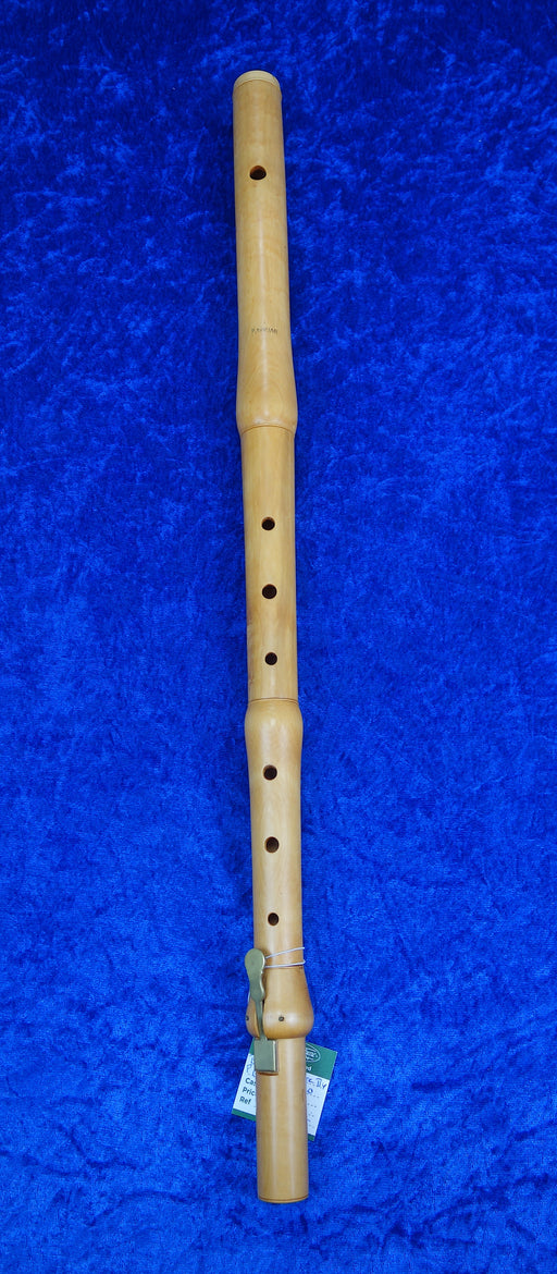 Baroque Flute a=440 by P. Gruar with single key in Boxwood (Previously Owned)