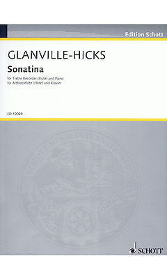 Glanville-Hicks: Sonatina for Treble Recorder and Piano