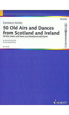 Various: 50 Old Airs and Dances from Scotland and Ireland