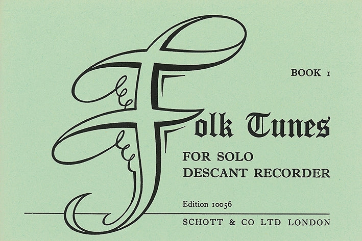 Various: First Folk Tunes for Descant Recorder