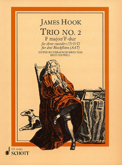 Hook: Trio No. 2 in F Major for Recorder Trio