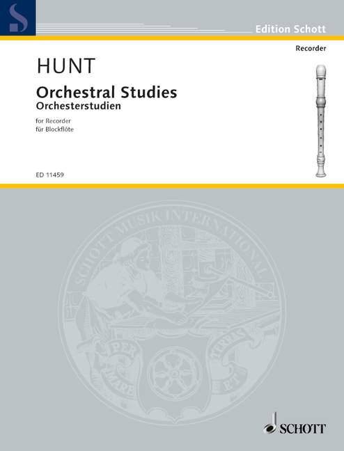Hunt: Orchestral Studies for Recorder