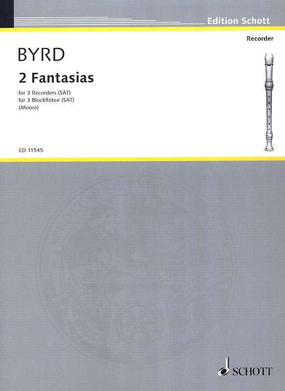 Byrd: 2 Fantasias for 3 Recorders