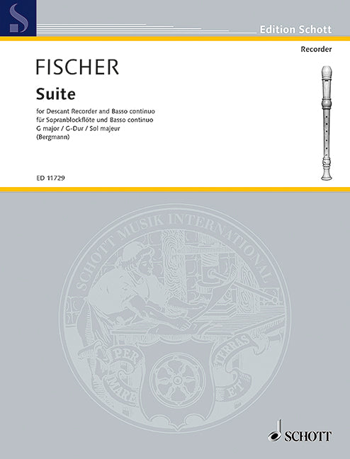 Fischer: Suite in G Major for Descant Recorder and Basso Continuo