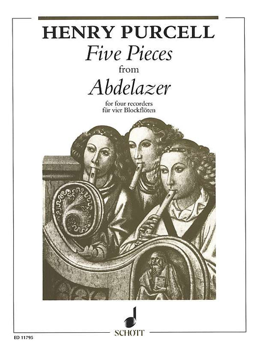 Purcell: 5 Pieces from Abdelazar for 4 Recorders