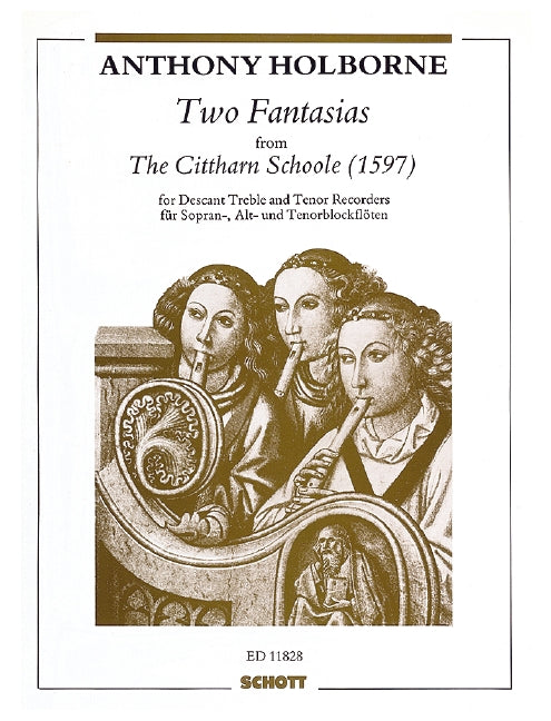 Holborne: Two Fantasias for three Recorders