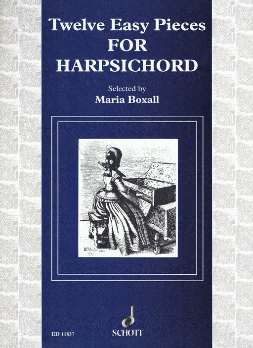 Various: 12 Easy Pieces for Harpsichord