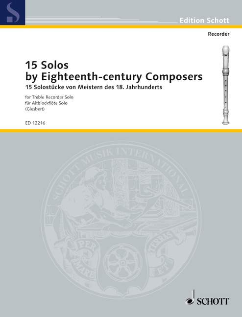 Various: 15 Solos by 18th Century Composers