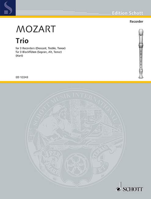 Mozart: Trio for 3 Recorders