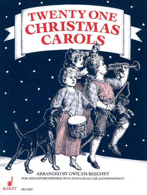 Various: 21 Christmas Carols for Descant Recorder(s) with Piano or Guitar Accompaniment