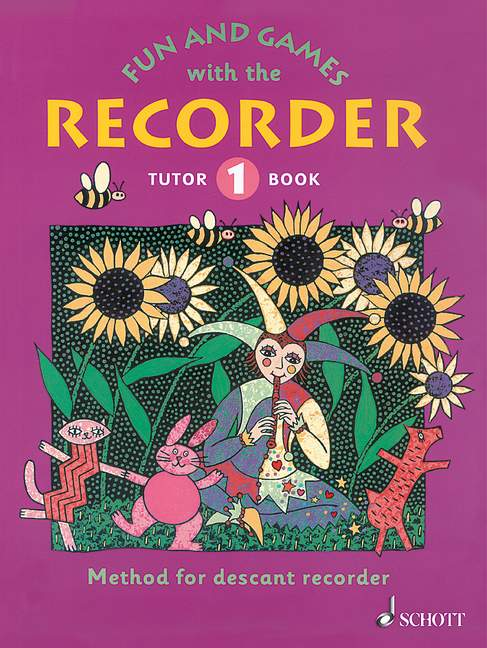 Fun and Games with the Recorder - Tutor Book 1