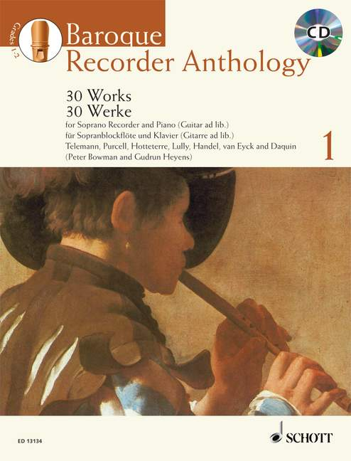 Various: Baroque Recorder Anthology, Vol. 1