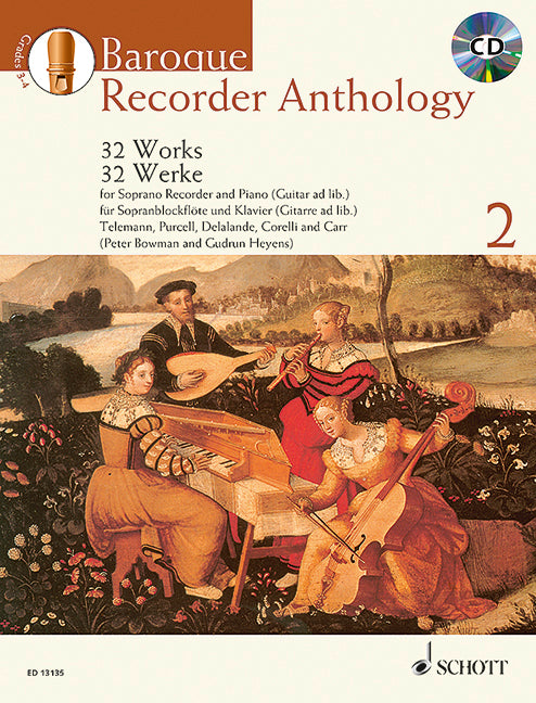 Various: Baroque Recorder Anthology, Vol. 2
