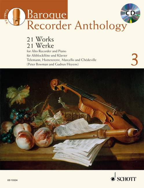 Various: Baroque Recorder Anthology, Vol. 3