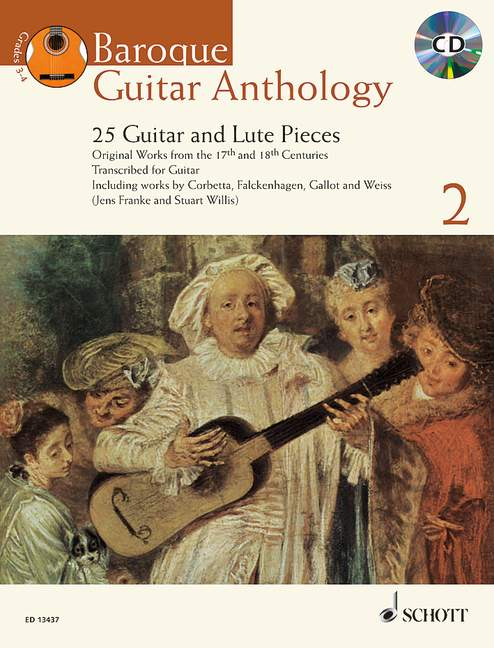 Various: Baroque Guitar Anthology, Vol. 2