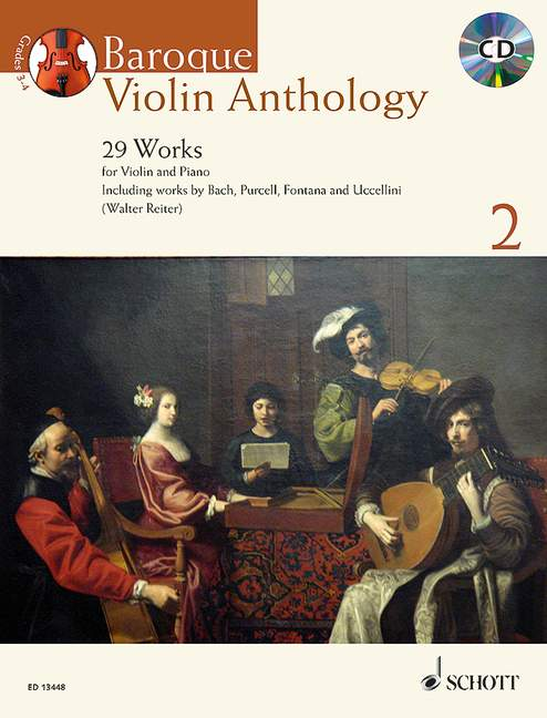 Various: Baroque Violin Anthology, Vol. 2