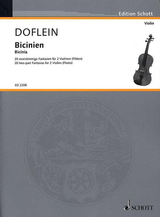 Doflein (ed.): Bicinia for 2 Violins