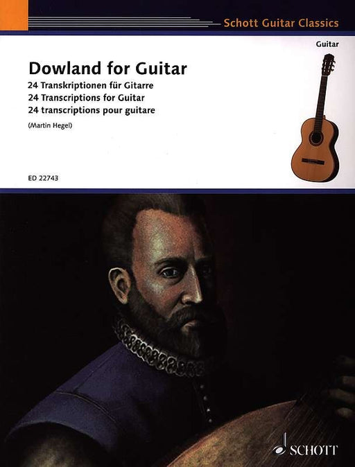 Hegel (ed.): Dowland for Guitar