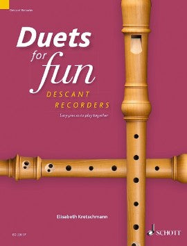 Various: Duets for Fun for Descant Recorders