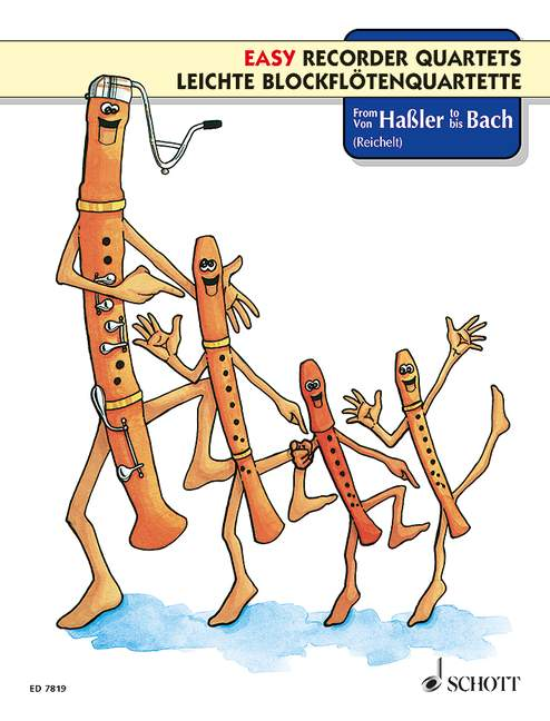 Various: Easy Recorder Quartets - From Hassler to Bach