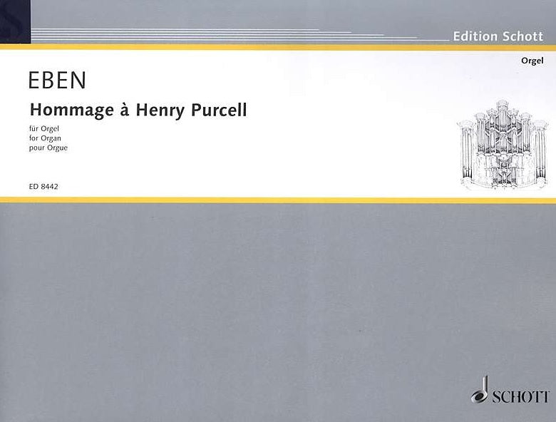 Eben: Hommage à Henry Purcell for Organ