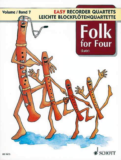 Various: Easy Recorder Quartets Vol. 7 - Folk for Four