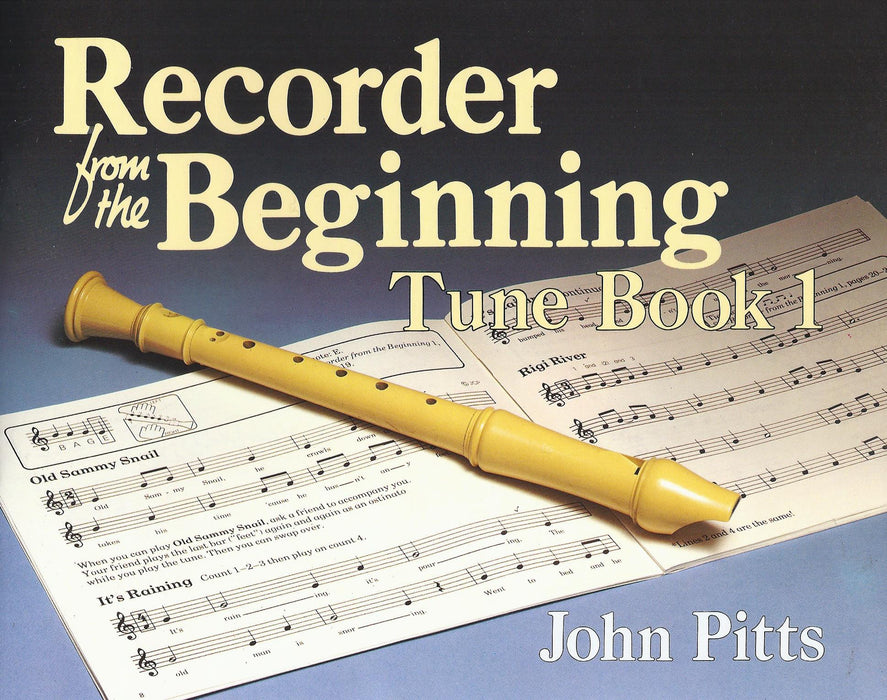 Pitts: Recorder from the Beginning, Tune Book 1