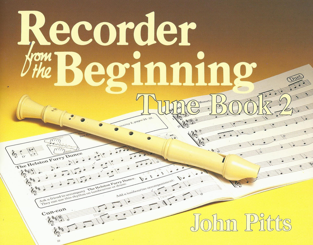 Pitts: Recorder from the Beginning, Tune Book 2