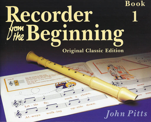 Pitts: Recorder from the Beginning Book 1 - Original Classic Edition