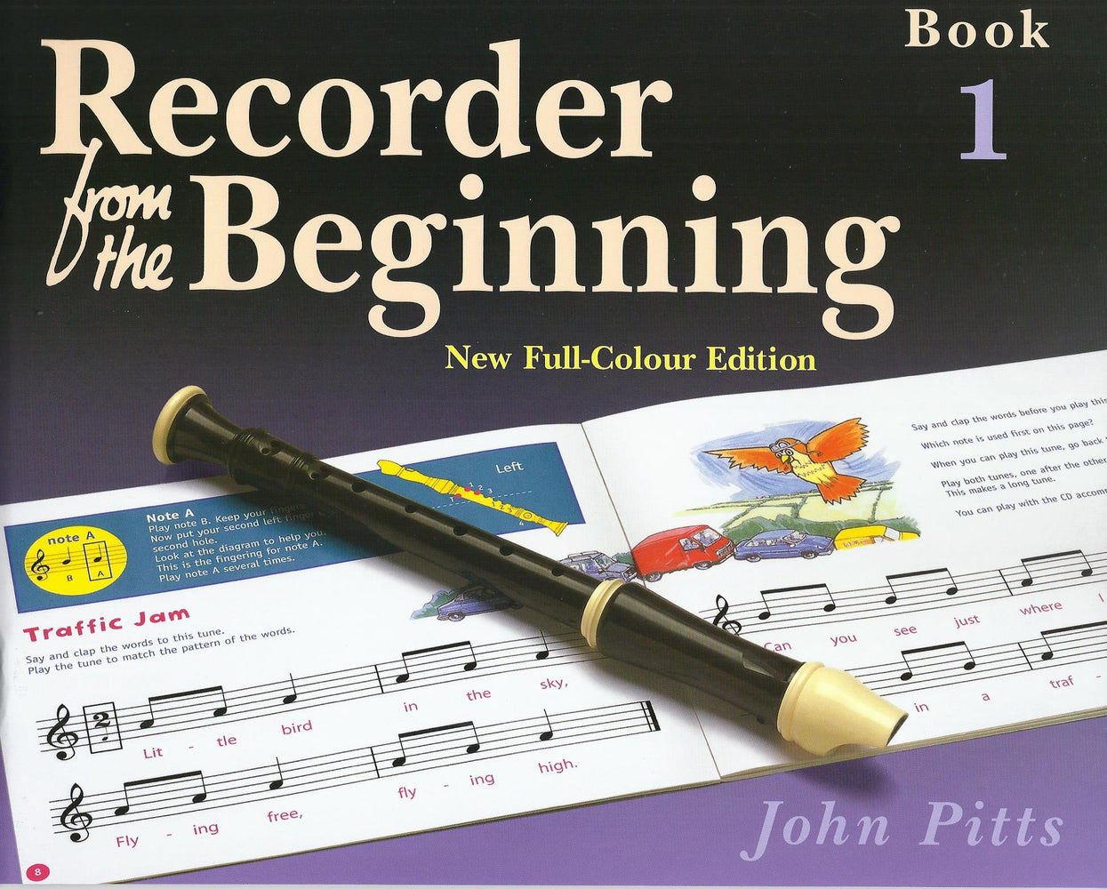 Pitts: Recorder from the Beginning Book 1 - New Full-Colour Edition