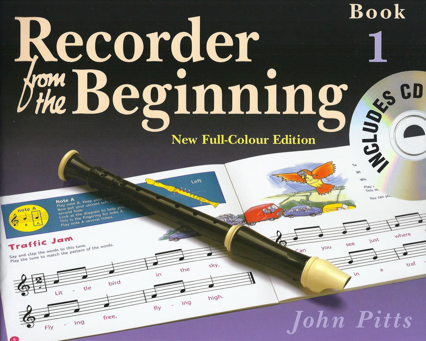 Pitts: Recorder from the Beginning Book 1 - New Full-Colour Edition with CD