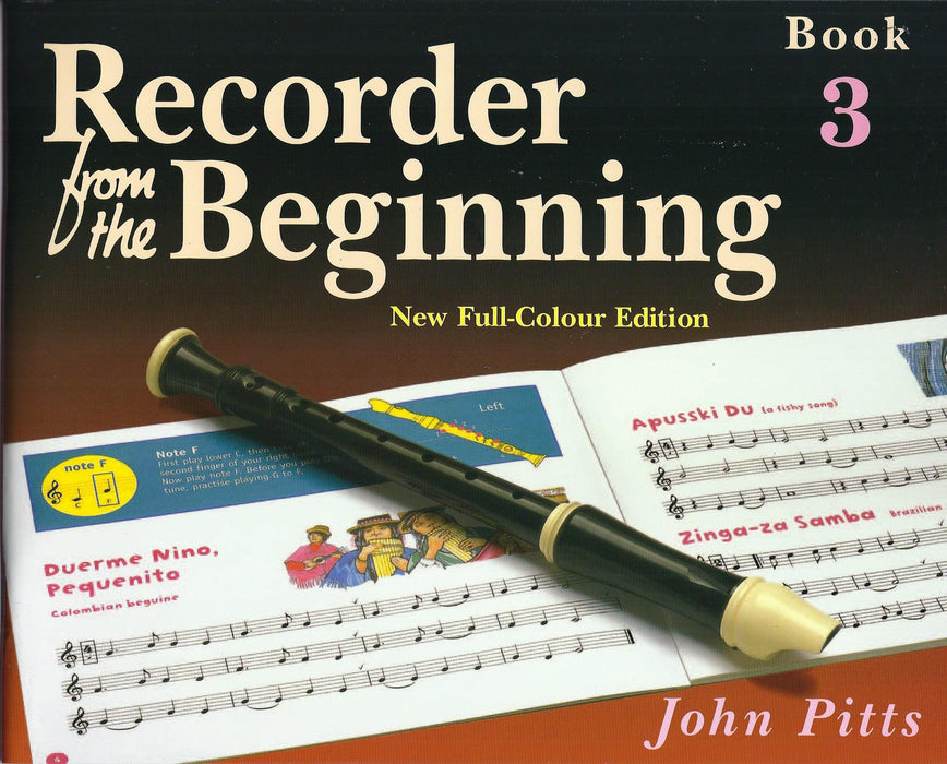Pitts: Recorder from the Beginning Book 3 - New Full-Colour Edition
