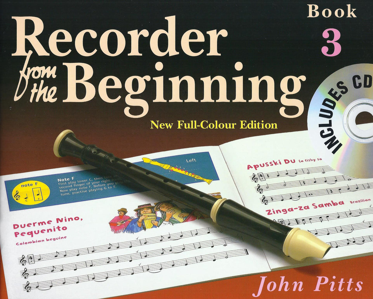 Pitts: Recorder from the Beginning Book 3 - New Full-Colour Edition with CD