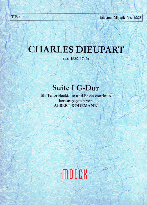 Dieupart: Suite I in G Major for Tenor Recorder and Basso Continuo