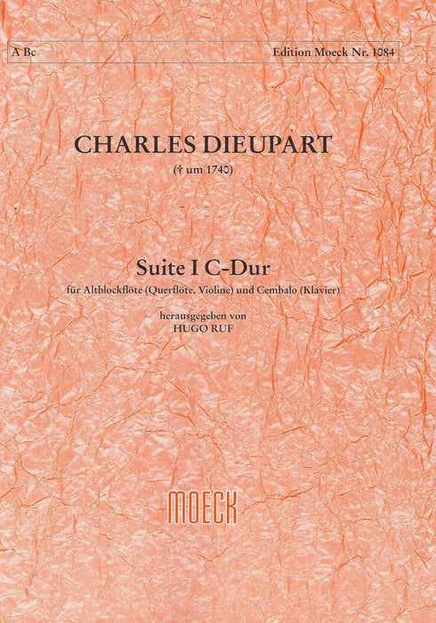 Dieupart: Sonata I in C Major for Alto Recorder and Basso Continuo