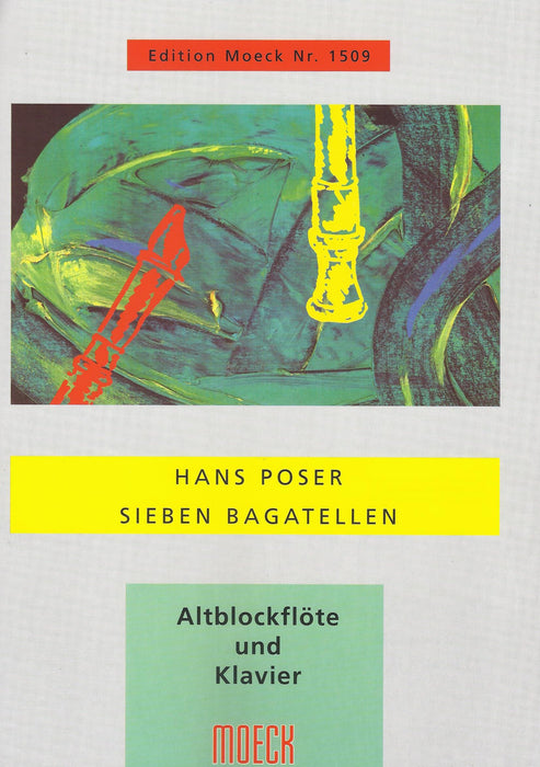Poser: 7 Bagatelles for Treble Recorder and Piano