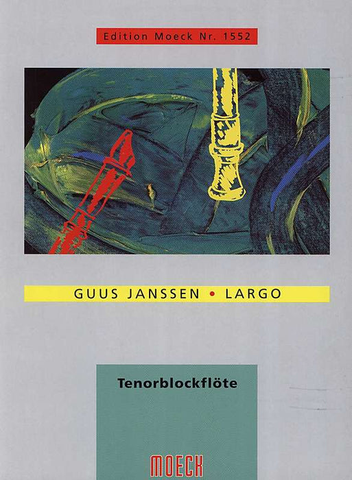 Janssen: Largo for Tenor Recorder