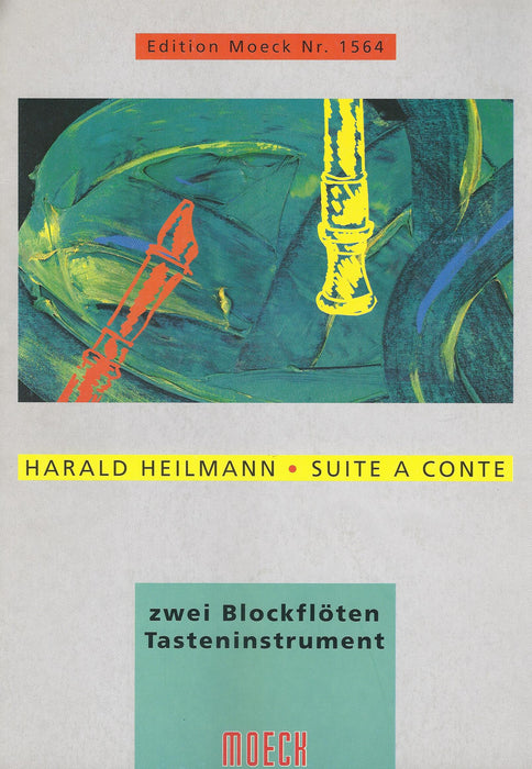 Heilmann: Suite a conte for 2 Recorders and Keyboard