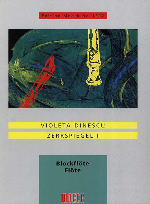 Dinescu: Zerrspiegel I for Recorder and Flute