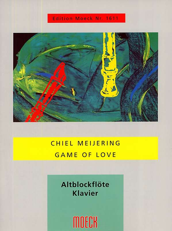 Meijering: Game of Love for Treble Recorder and Piano