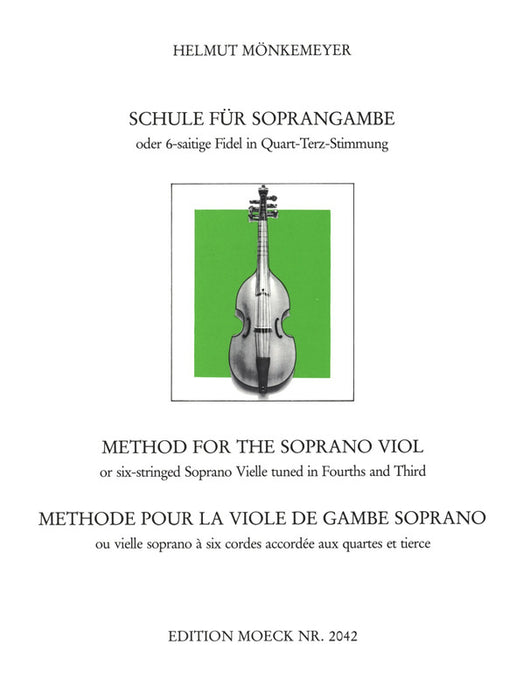 Monkemeyer: Method for the Soprano Viol